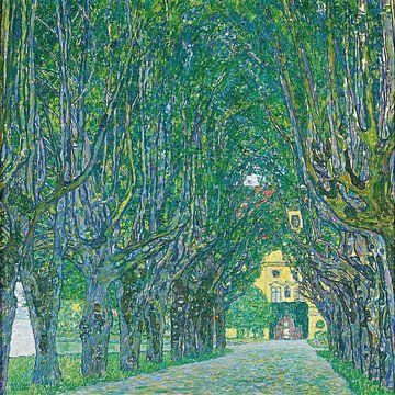 Laan naar het Kammerkasteel, Gustav Klimt