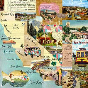 California Collage