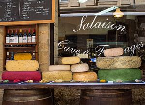 Wijn en kaas van