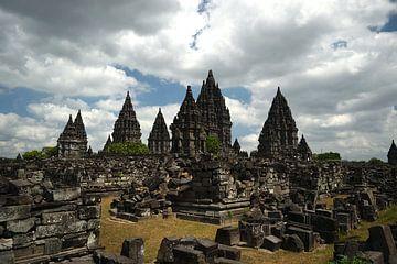 Prambanan Indonesië, Java van Lars Bruin
