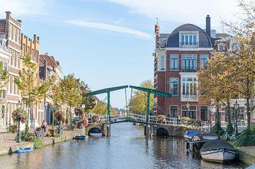 In de stad Leiden sur