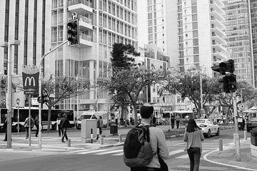 Rothschild Boulevard, Tel Aviv van Inge Hogenbijl