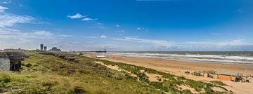 Scheveningen vue sur la plage sur Patrick van Dijk