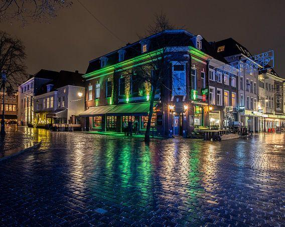 Breda - Kerkplein - Cafe Bruine Pij