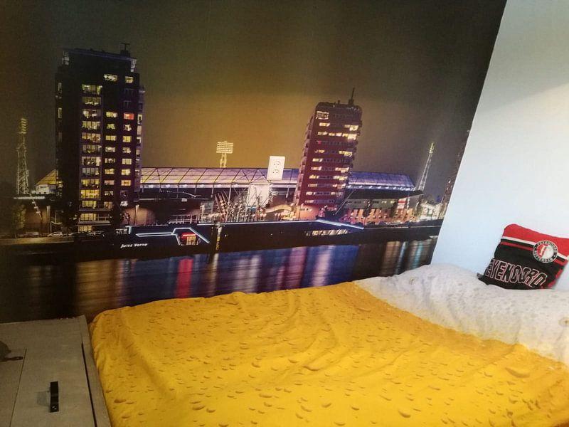 Klantfoto: Rotterdam stadion de Kuip van Eisseec Design