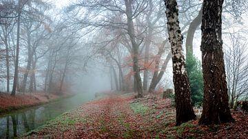 Herfst in Millingen van Willem Jongkind
