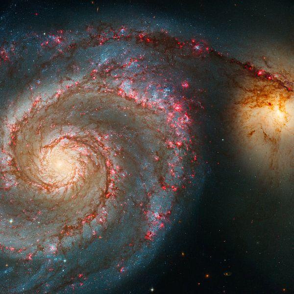 Hubble telescope foto,s van NASA van Brian Morgan