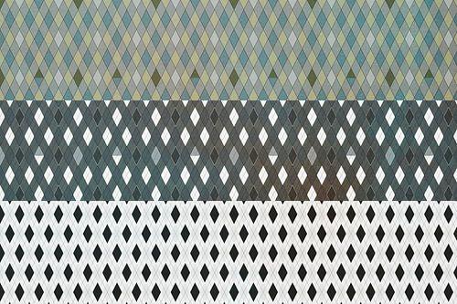Grafisch patroon, ruit