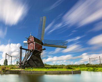 Lageveense molen in Lisse, Holland van Marcel van den Bos