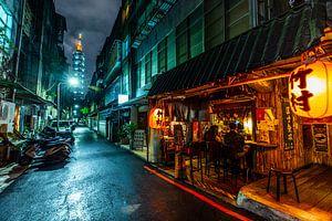 Taipei 101 Alley van Michel van Rossum