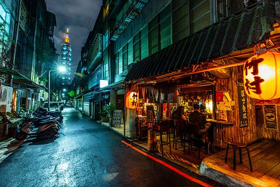 Taipei 101 Alley