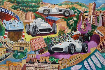 Fangio, Grand-prix Monaco Mercedes van Jeroen Quirijns