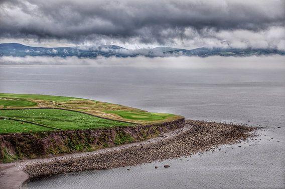 Ierse kust bij Waterville, Ring of Kerry.