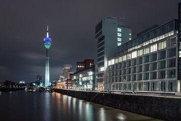 Der Hafen von Düsseldorf von Richard Driessen