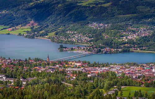 Lillehammer in Noorwegen van