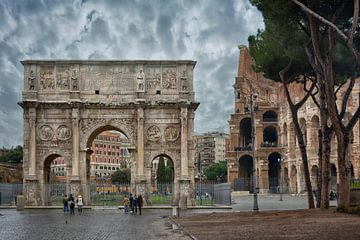 Arch of Constantine van Joachim G. Pinkawa