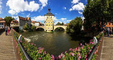 Bamberg - Oude Stadhuis Panorama van Frank Herrmann
