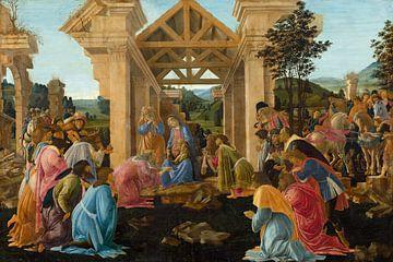 Sandro Botticelli - Die Anbetung der Könige