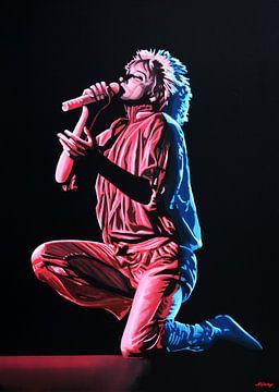 Rod Stewart Schilderij von Paul Meijering
