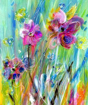 trendy flowers von Claudia Gründler
