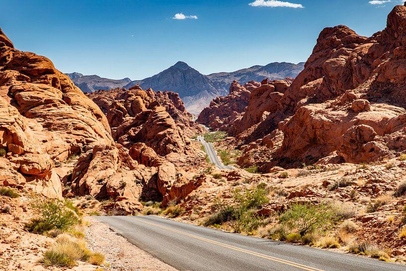 Valley of Fire state park - Nevada - Las Vegas van Martijn Bravenboer