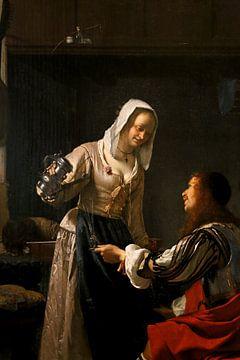 Bordellszene, Frans van Mieris der Ältere