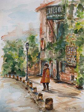 Automne à Montmartre. sur Ineke de Rijk