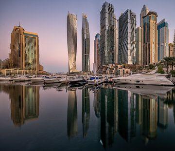 Dubai Marina Skyline von Achim Thomae
