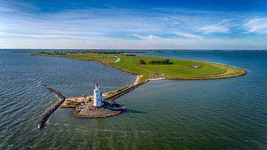 Het eiland Marken en het Paard van Marken von Paul van Baardwijk