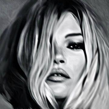 Motiv Kate Moss - Blurred Game von Felix von Altersheim