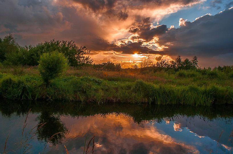 zonsondergang 2.0 van Robin Pics (verliefd op Utrecht)