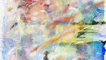 Abstrakte moderne digitale Malerei