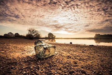 Stein am Strand von Bert-Jan de Wagenaar