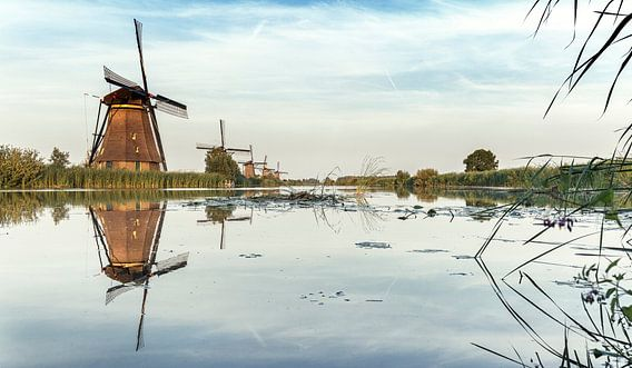 Kinderdijk Nederland schilderachtig