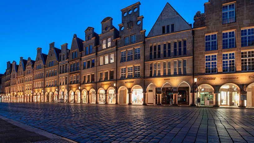 Prinzipalmarkt Münster zur blauen Stunde von Steffen Peters