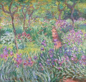 De tuin van de kunstenaar in Giverny, Claude Monet