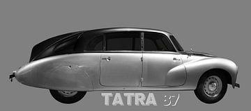 Tatra 87 in zwart & zilver van aRi F. Huber
