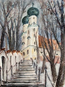 Pfarrkirchen - Auf dem Gartlberg von Christine Nöhmeier