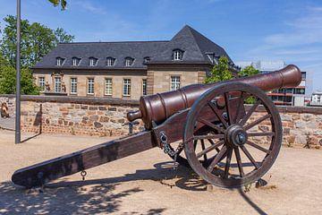 Alte Kanone, Alter Zoll, Bonn, Rhénanie-du-Nord-Westphalie, Allemagne sur Torsten Krüger