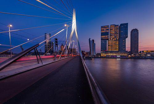Erasmusbrug en De Rotterdam van
