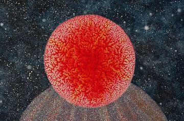Rode energie in de kosmos van