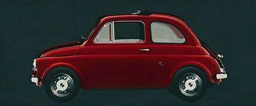 Fiat Abarth 595 von 1968 von Jan Keteleer