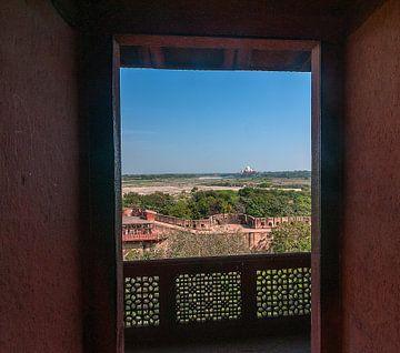 Agra: Fort Agra von Maarten Verhees