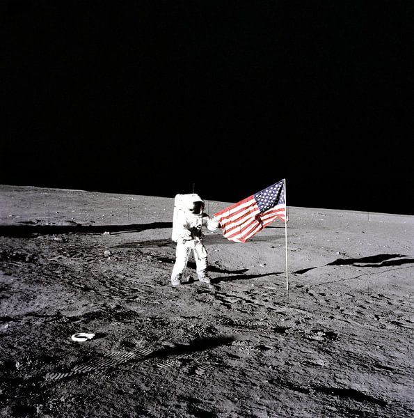 Moonwalk, Pete Conrad 1969 van Moondancer .