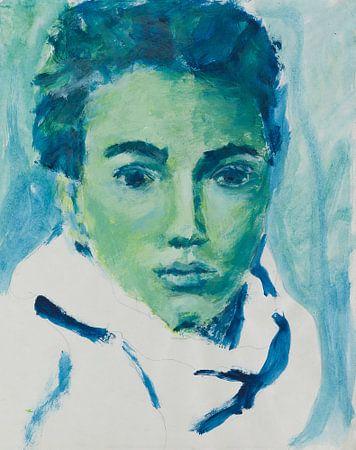 Haar blauwe blik van Katrijn Van Bree