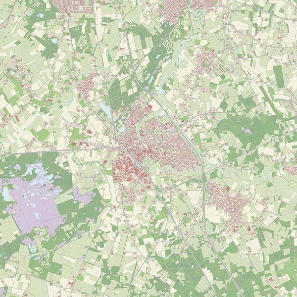 Kaart vanBoxtel