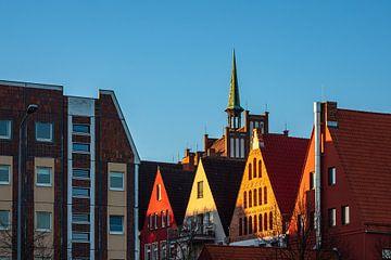 Historische Gebäude in der Hansestadt Rostock von Rico Ködder