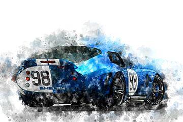 Shelby Daytona Coupe nr. 98 van Theodor Decker