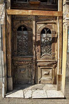 Alte Tür von Dick Carlier