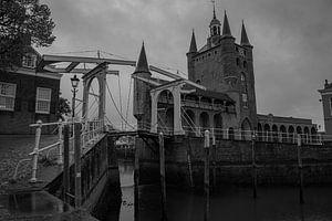 Oude toren van Zierikzee van Hartsema fotografie